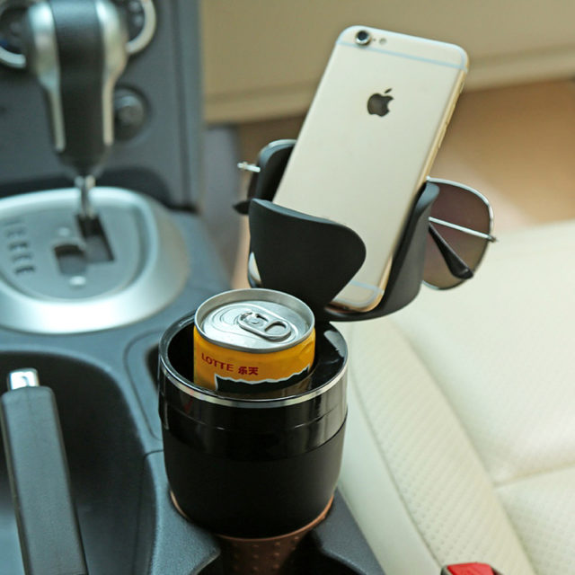 Transformable Cup/Organizer for Car Cup Holder