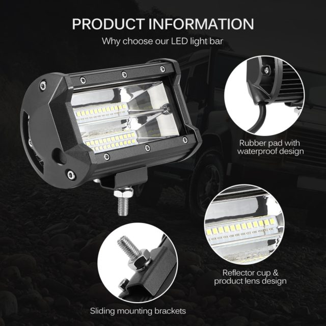 Waterproof LED Work Light for Car