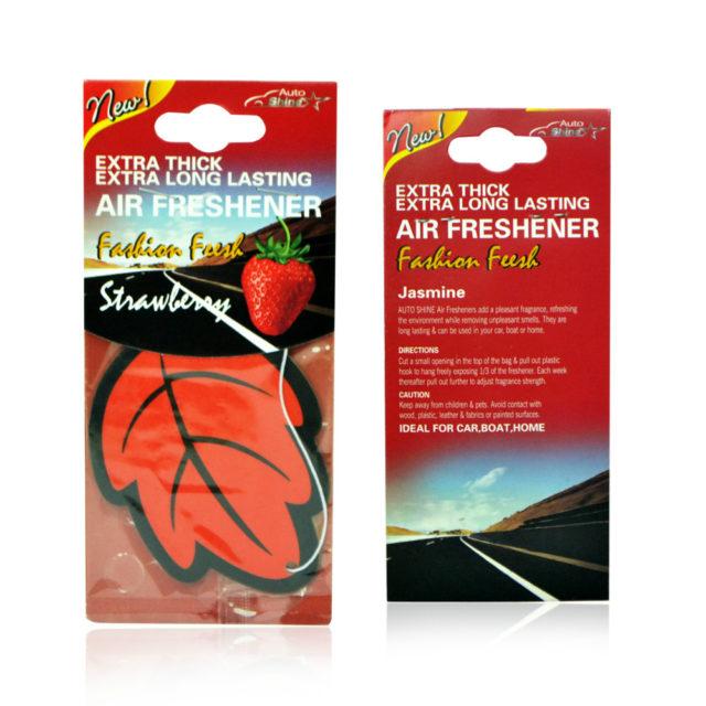 Set Paper Hanging Car Air Fresheners