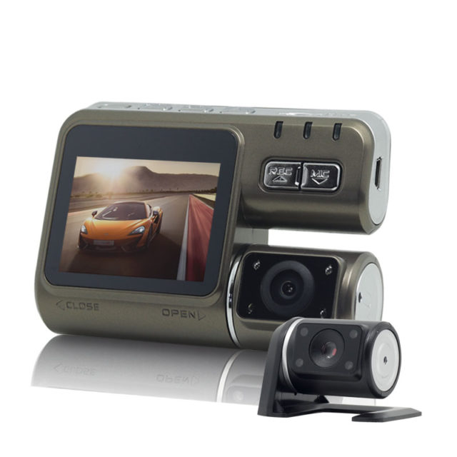 Dual Full HD 1080P Dash Camera